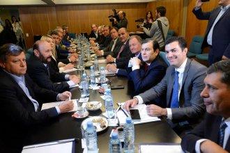 """""""Hay consenso total"""" de los gobernadores para lograr un presupuesto equilibrado"""