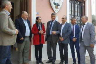 Diputados franceses recorrieron San José