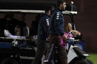 Dolor, llanto e impotencia: Goleador entrerriano sufrió fractura de peroné