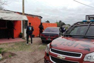 Irrumpieron en el barrio para desbaratar kioscos de droga