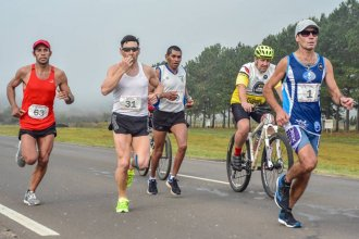 Unieron dos orillas con la Maratón Binacional Concordia - Salto