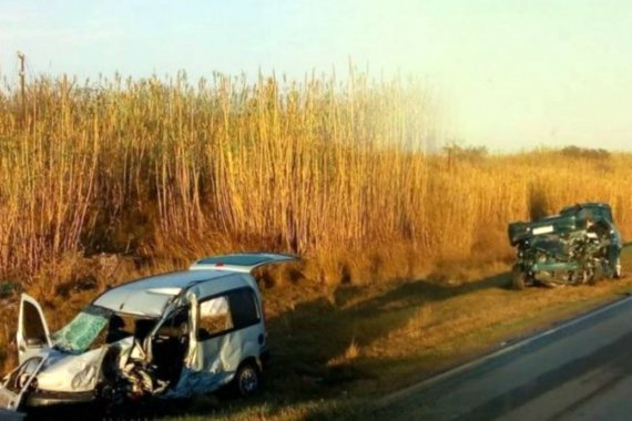 Joven entrerriano murió tras un choque frontal en ruta de Córdoba