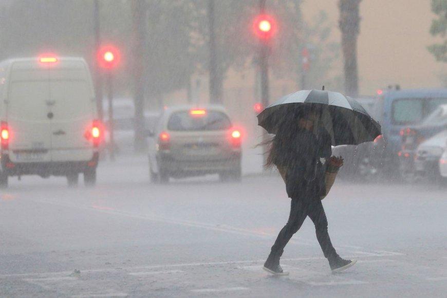 Santiago: Alerta para el Sur de  por vientos con fuertes ráfagas
