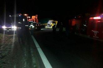 Dos camiones protagonizaron choque en Ruta 12