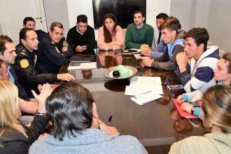 """Luego de la preocupación policial, hubo reunión para operativos del """"Día del Estudiante"""""""