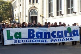 Bancarios adhieren al paro convocado por la CGT