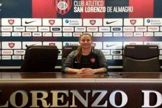 Fútbol femenino: Una entrerriana defiende el arco de primera en San Lorenzo
