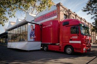 Con una parada en Concordia, el camión del Egger tour mostrará sus productos