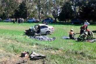 Otro fatal accidente tuvo como protagonistas a un auto y un camión