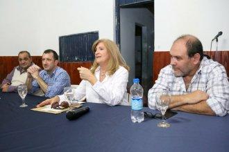 Romero, Kuider y miltantes hablaron de la unidad en el PJ y la reelección de Bordet