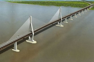 El puente Paraná-Santa Fe está incluido en el Presupuesto 2019