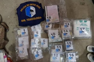 Desarticularon kiosco de droga en Paraná: Hay dos detenidos