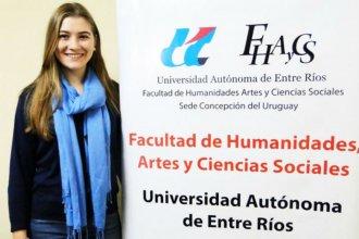 Estudiante entrerriana fue becada y viajará a Francia para perfeccionarse
