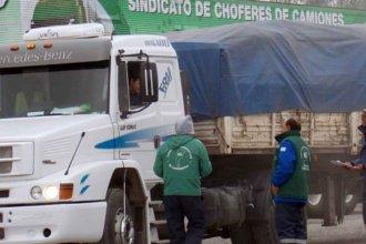 Camioneros lleva la protesta a las rutas de Entre Ríos