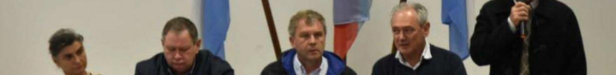 Jaroslavsky con los máximos referentes de la UCR.