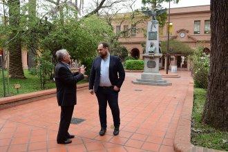 El embajador de Montenegro en Argentina visitó la Histórica