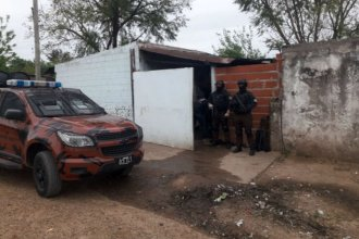 Megaoperativo: realizan 16 allanamientos en barrio de Paraná