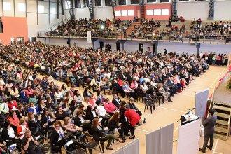 Con más de 2700 docentes, comenzó el VI Congreso de Educación