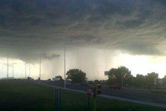 Entre Ríos comienza la semana con alerta por tormentas fuertes