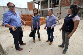 """Afirman que la obra en la """"Juana Manso"""" se reinició y está en su etapa final"""