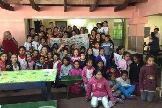 Pudieron cumplir el sueño: cambiaron el viaje de egresados por una acción solidaria