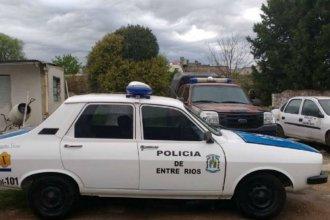 Comisaría entrerriana necesitaba patrulleros y recibió un Renault 12