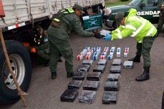 Atravesó Entre Ríos con 56 kilos de droga y fue descubierto en Buenos Aires