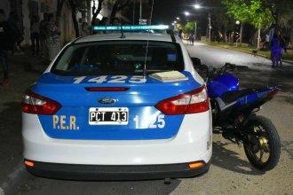 Relatos salvajes: evadió un control, chocó a un policía y terminó preso