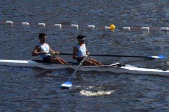 La dupla Modarelli - Herrera aportó el primer galardón para el medallero argentino