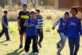 Cuando el fútbol vuelve a ser un juego y permite integrar 100 niños de dos barrios