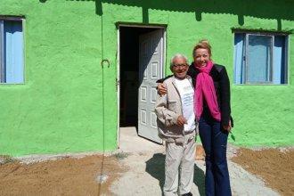 Don Romero cumplió el sueño de tener su casa propia