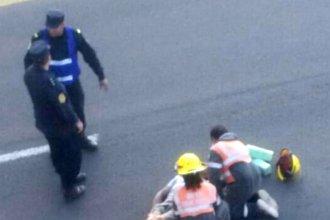 Con serias lesiones en su cuerpo, falleció el hombre que se había arrojado del puente