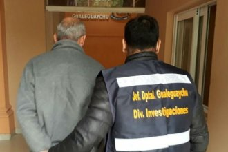 Lo buscaban en el país: Detuvieron en Entre Ríos a un abusador de menores
