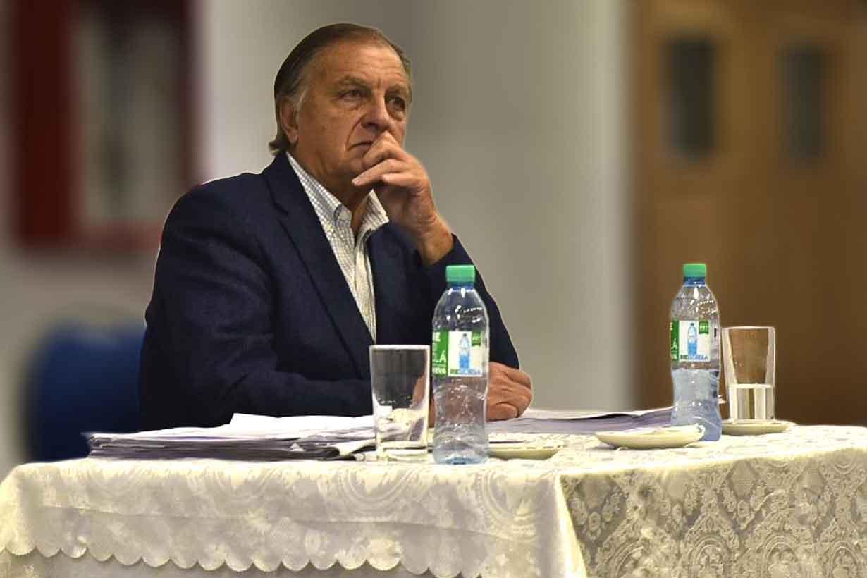 El juez Bernardo Salduna