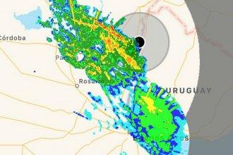Alertan por fuertes tormentas en rutas nacionales 14 y 12