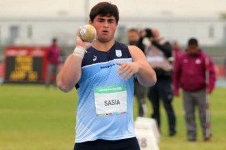 JJOO de la Juventud: Nazareno Sasia, el entrerriano que batió récords en su debut