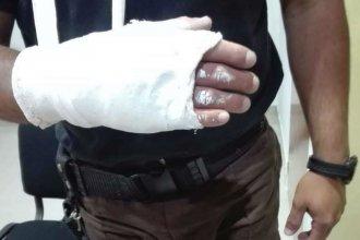 Operativo por narcomenudeo terminó con 3 detenidos y un policía fracturado