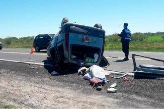 Evolucionan los heridos del accidente en el que una joven perdió la vida