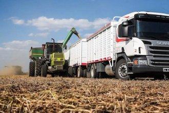 Transportistas de granos anunciaron una huelga por tiempo indeterminado