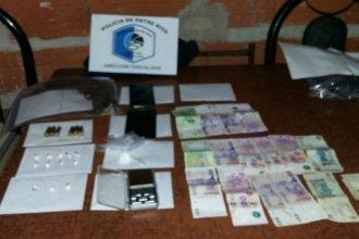 Kiosco de droga: había cuatro menores de edad en la casa allanada