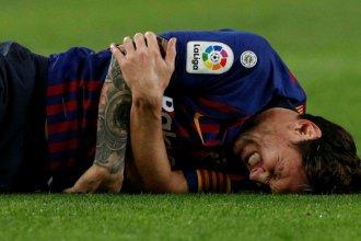 Messi se fracturó un brazo y se perderá el clásico contra Real Madrid