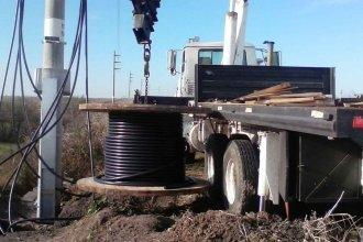 ¿Quién se robó 20 metros de cable subterráneo del Balneario Rocha?