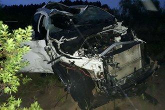 Accidente en la Autovía: llevaban puesto el cinturón y solo sufrieron heridas leves