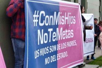 """Convocan a una concentración para pedir """"ESI sin ideologías"""""""
