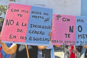 Convocan a marchar por la educación sexual, bajo la consigna #conmishijosnotemetas
