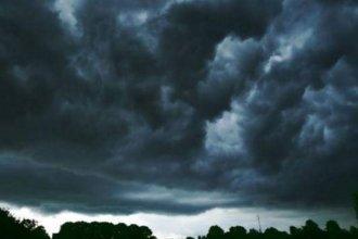 Rige un alerta meteorológico por tormentas y caída de granizo para Entre Ríos