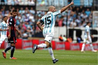 A pesar del gol entrerriano, San Lorenzo no pudo con Racing