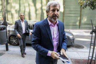 En plena campaña, el ministro Frigerio vuelve por obras a la costa del río Uruguay