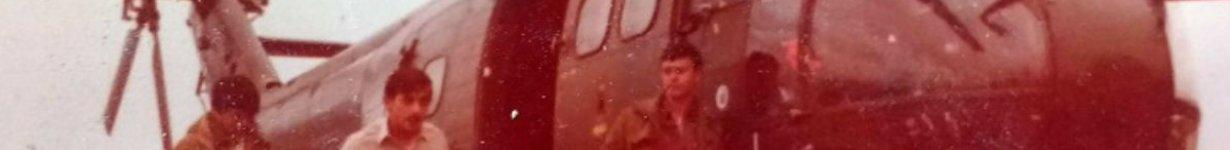 El PUMA que tenía a Dimotta como tripulante.