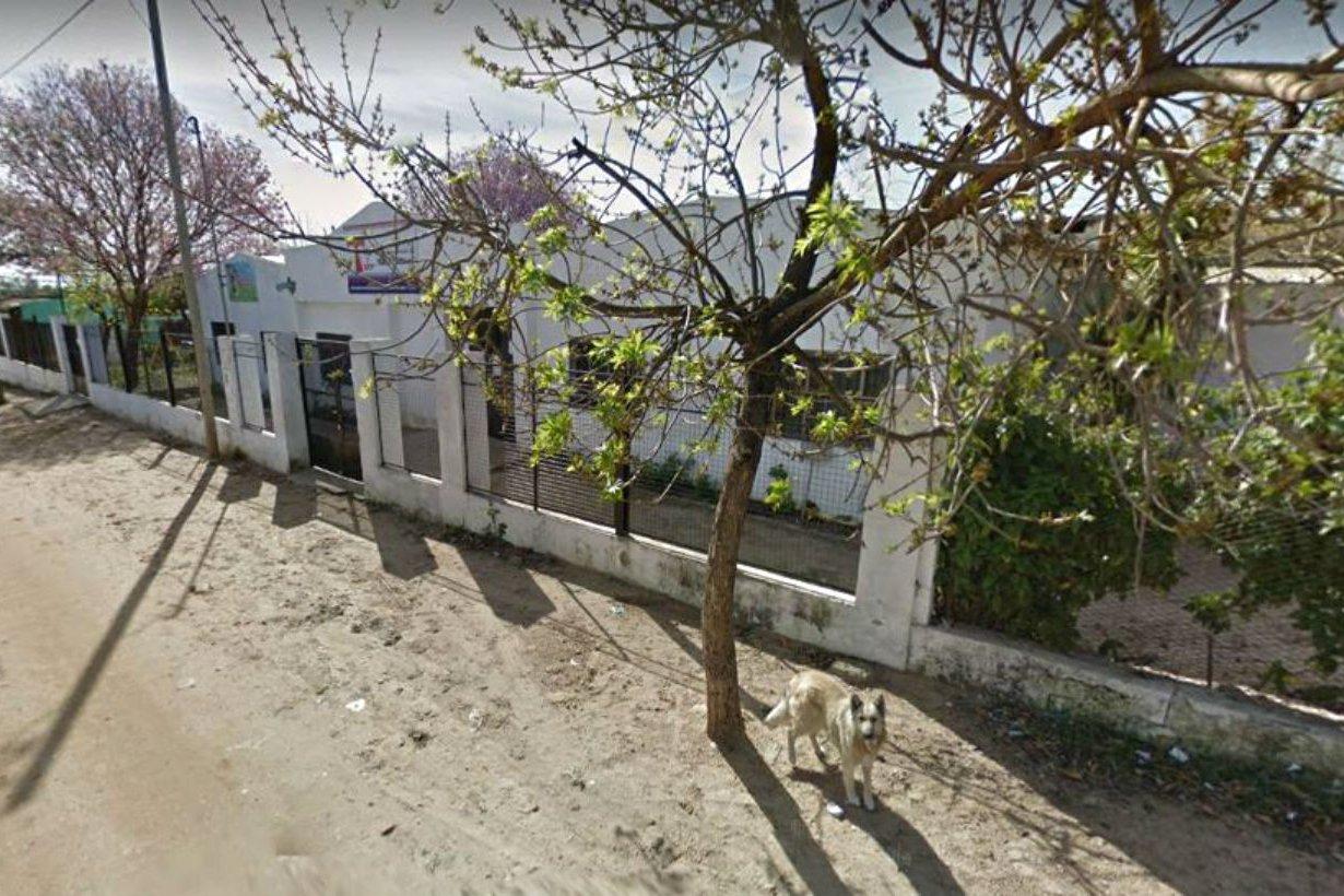 La escuela San Francisco en barrio Pancho Ramírez.